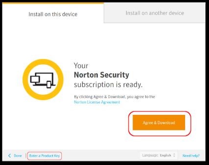 Norton.com/setup - Enter Product key - www.norton.com/setup