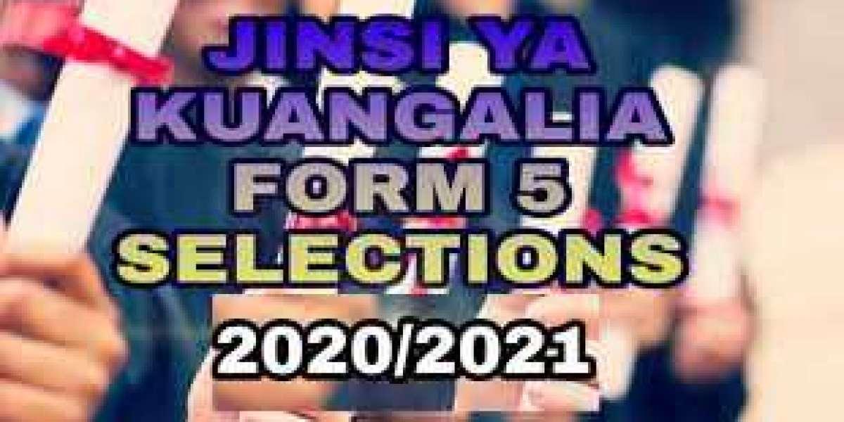 Form five selection 2020/2021 waliochaguliwa kidato cha tano 2021