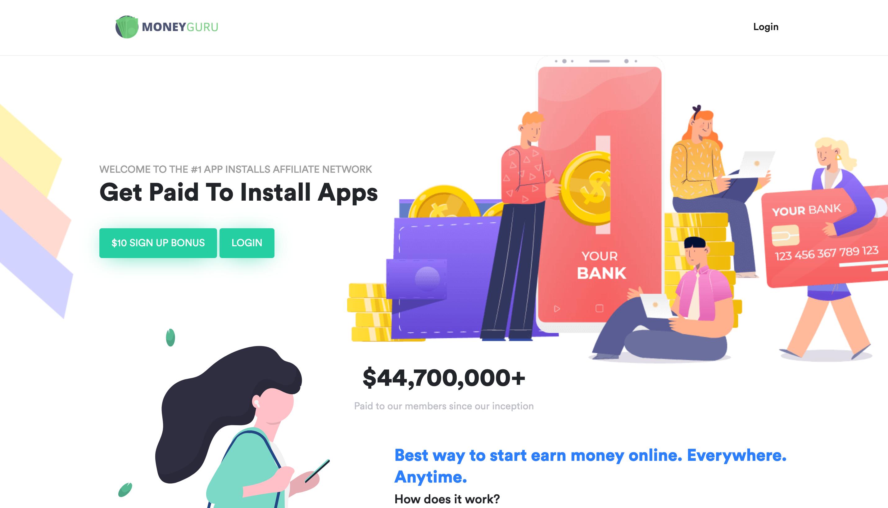 MoneyGuru - Ways To Make Money Online
