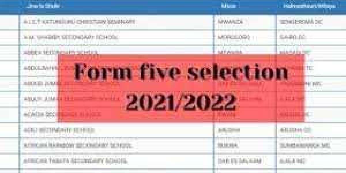 TAMISEMI Form Five Selection 2021 | Waliochaguliwa Kidato cha tano  TAMISEMI 2021
